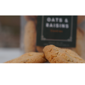 Oats and Raisins Cookies