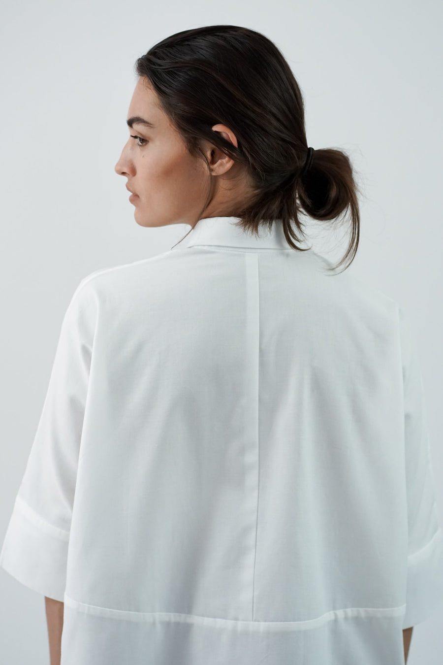 White Blouse IVY back
