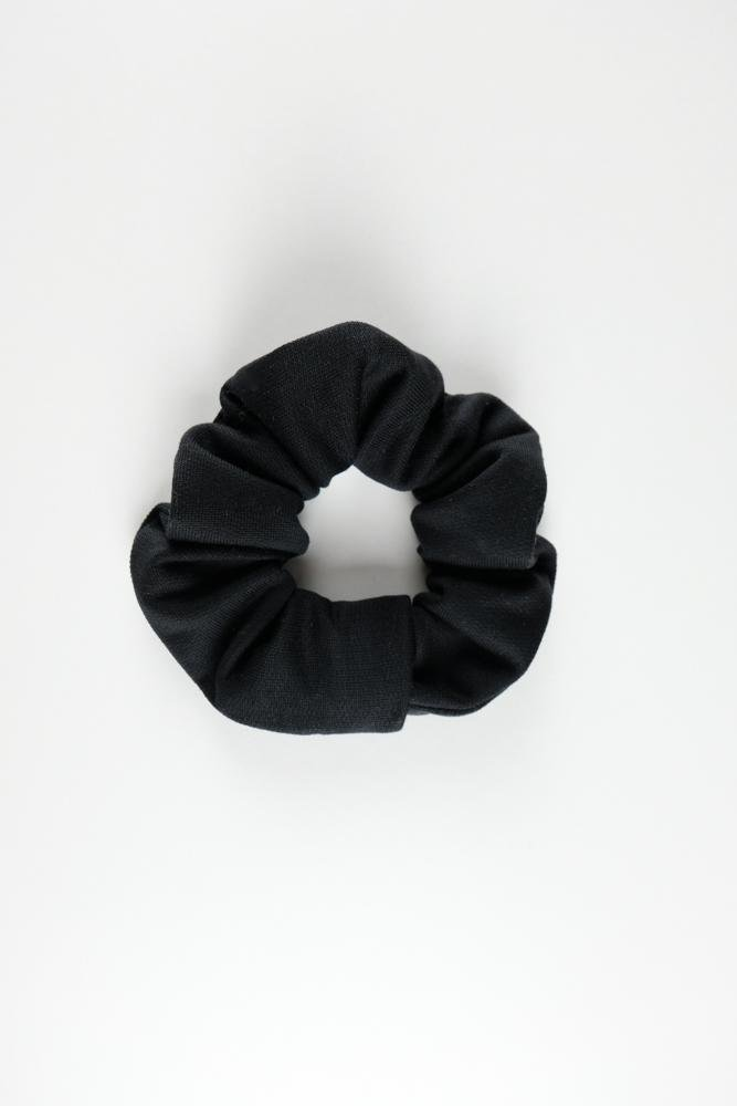 LET IT SCRUNCH / Black Scrunchie - somskat