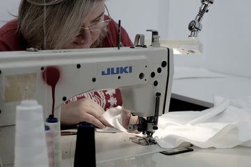 sewing sustainable fashion pieces