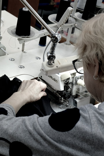 sewing ecological clothing