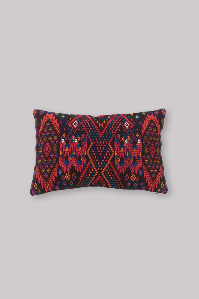 BROCADO IXKOT RED PILLOW