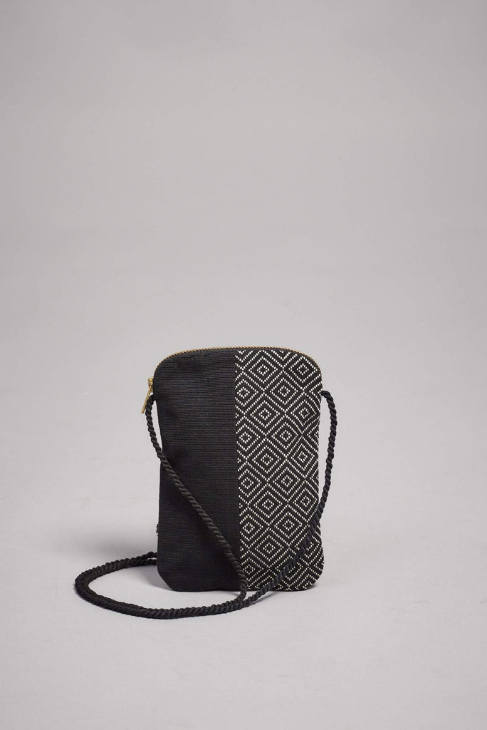 DIAMOND PHONE POUCH JUANA