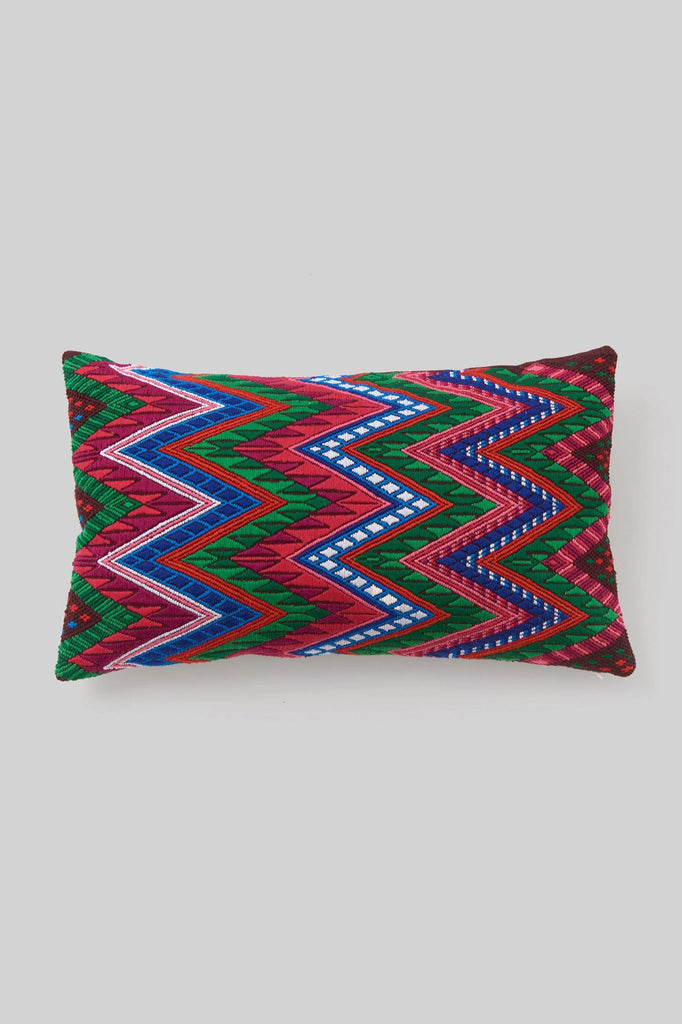 BROCADO SERPIENTE RED PILLOW