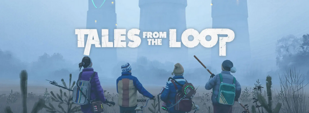 Tales From The Loop and The Witcher Role-Playing Games available now!