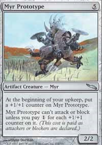 Myr Prototype [Mirrodin] | From The Deep Games