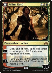 Arlinn Kord [Shadows over Innistrad Promos] | From The Deep Games