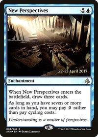 New Perspectives [Amonkhet Promos] | From The Deep Games