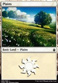 Plains (286) [Commander Anthology] | From The Deep Games
