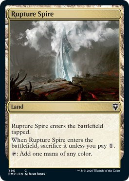 Rupture Spire (490) [Commander Legends] | From The Deep Games