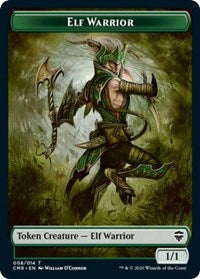 Elf Warrior Token [Commander Legends] | From The Deep Games