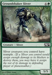 Groundshaker Sliver [Magic 2014] | From The Deep Games