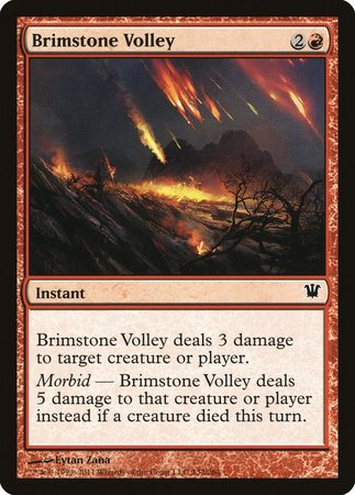 Brimstone Volley [Innistrad] | From The Deep Games