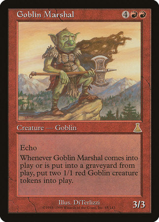Goblin Marshal [Urza's Destiny] | From The Deep Games