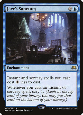 Jace's Sanctum [Magic Origins] | From The Deep Games