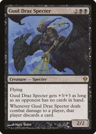 Guul Draz Specter [Zendikar] | From The Deep Games