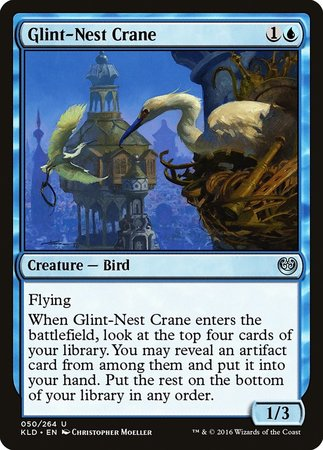 Glint-Nest Crane [Kaladesh] | From The Deep Games