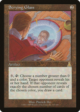 Scrying Glass [Urza's Destiny] | From The Deep Games