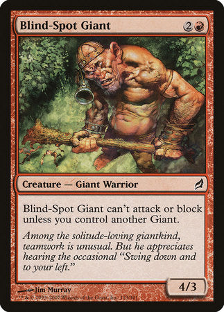 Blind-Spot Giant [Lorwyn] | From The Deep Games