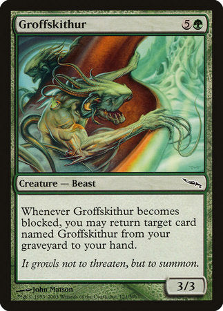 Groffskithur [Mirrodin] | From The Deep Games