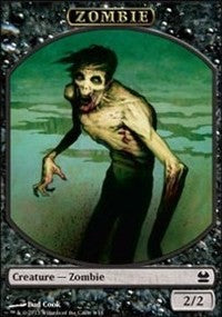 Zombie Token [Modern Masters Tokens] | From The Deep Games
