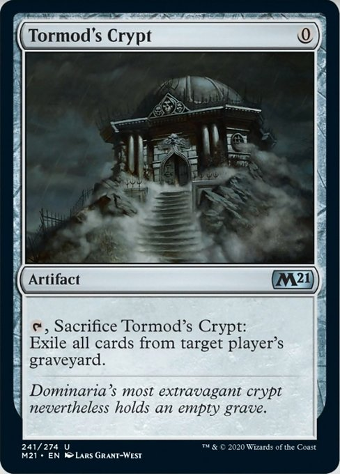 Tormod's Crypt [Core Set 2021] | From The Deep Games