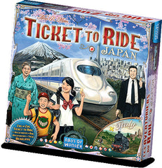 Ticket to Ride Japan / Italy Expansion | From The Deep Games