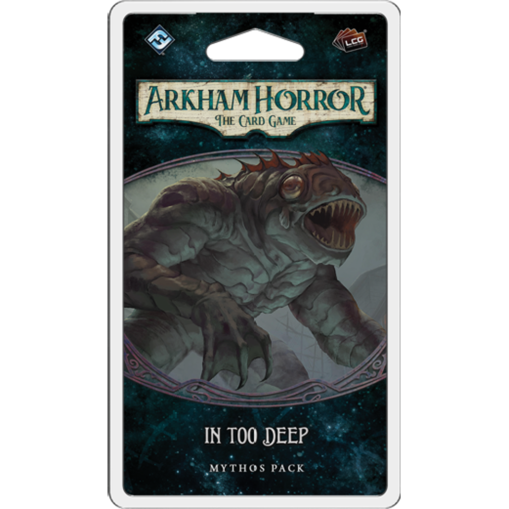 Arkham Horror The Card Game In Too Deep | From The Deep Games