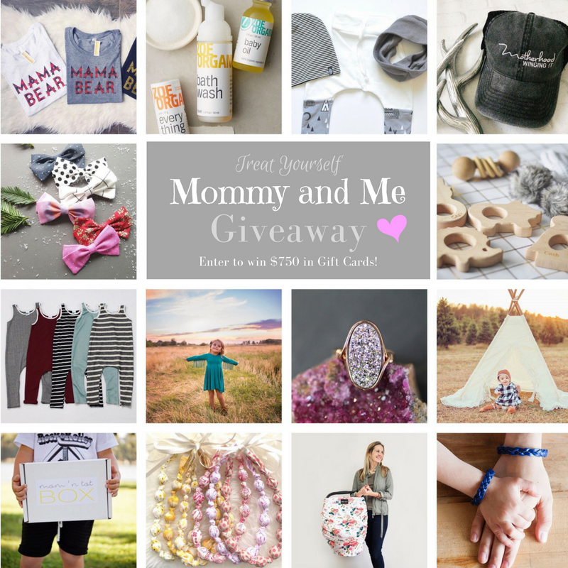 Treat Yourself Giveaway #2 for Mommy and Me!