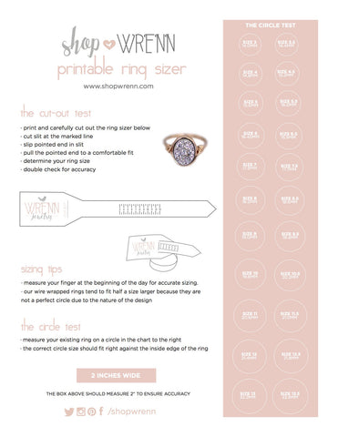 photo about Printable Ring Sizing Chart identified as Dimensions Specialist