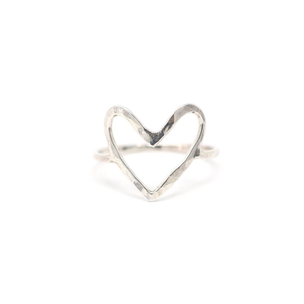 Amara Heart Statement Ring