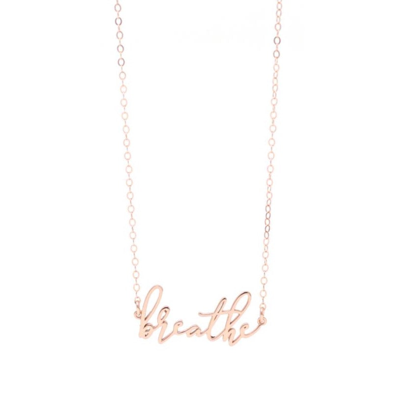 The Inspiration Collection: Breathe Necklace