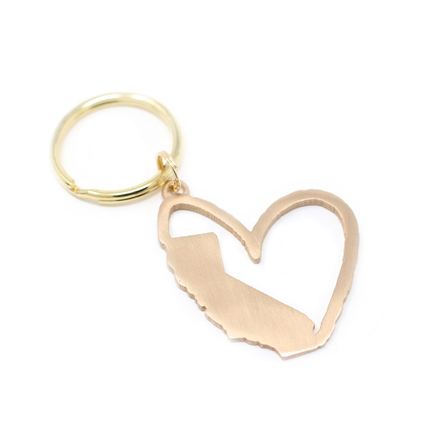 Sending My Love to California Keychain