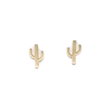 Katy Cactus Stud Earrings