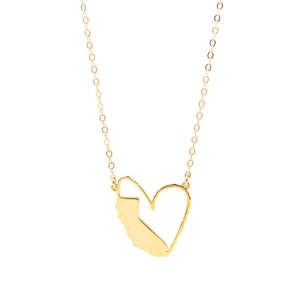 Sending My Love to California Necklace