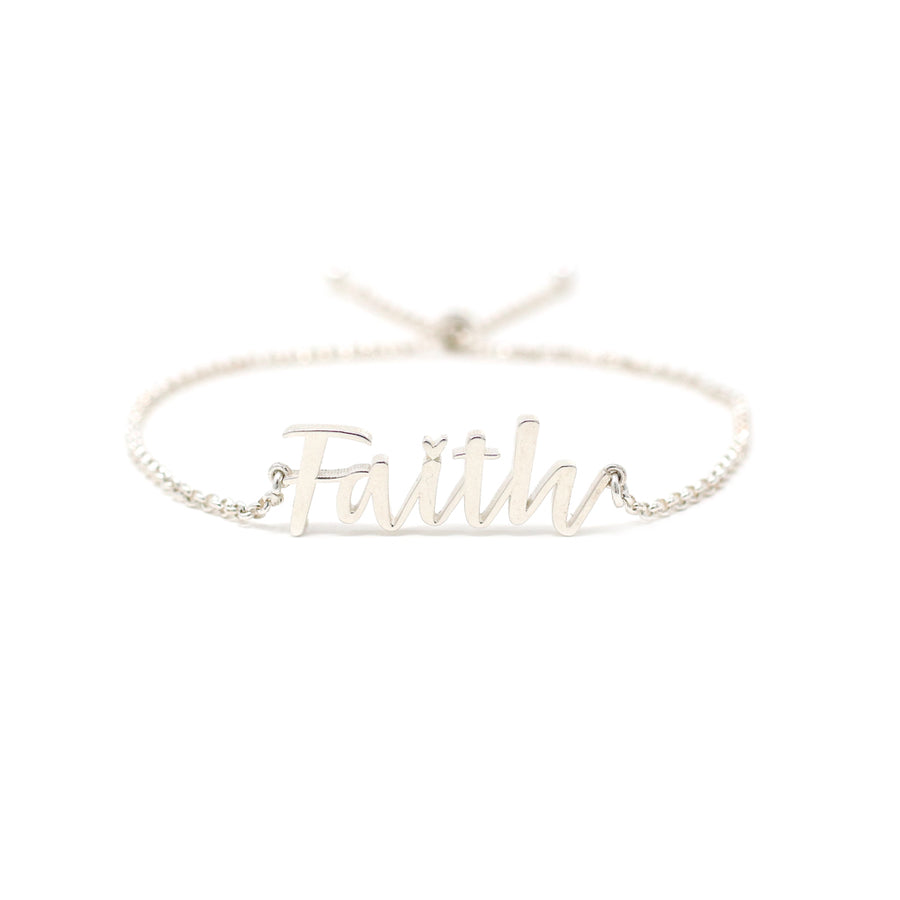 The Custom Script Name Bracelet