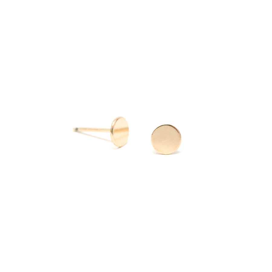 The Simple Dot Stud Earrings