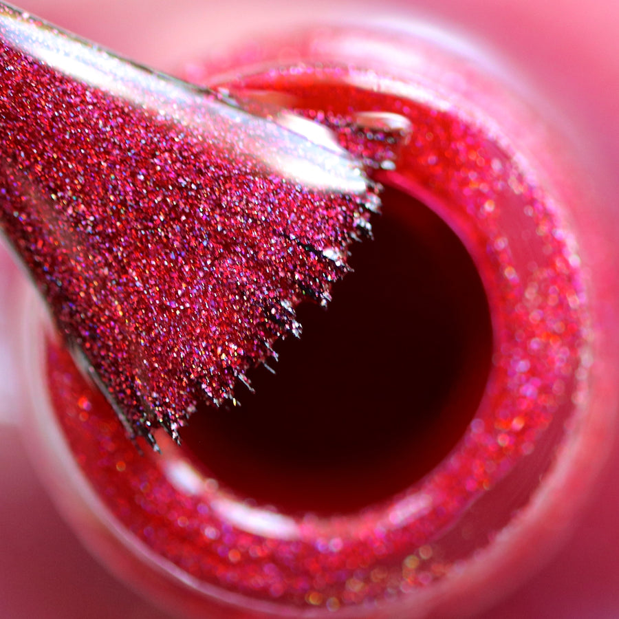 Ruby Slippers Holographic Nail Polish