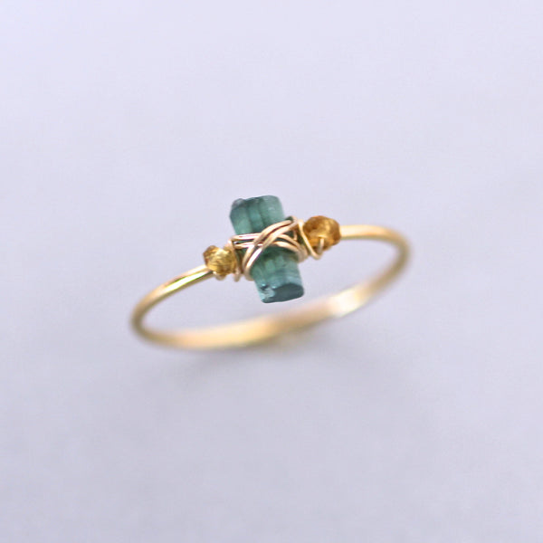 Stella Ring in Blue Tourmaline