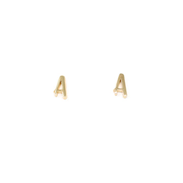 Amelia Initial Stud Earrings