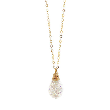 Lisa Necklace Confetti Druzy