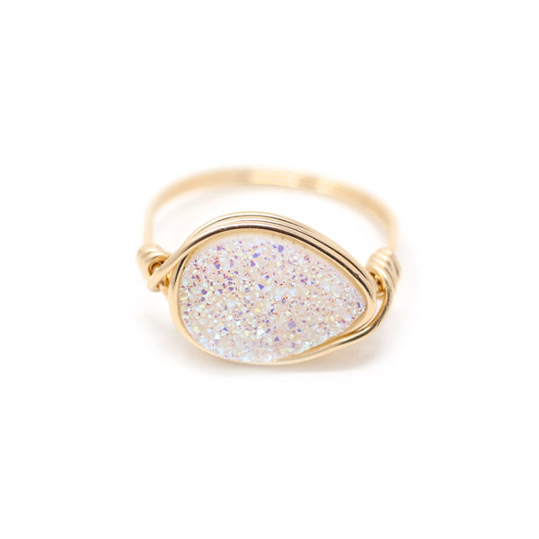 Lisa Ring Confetti Druzy