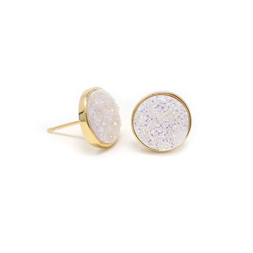 Nikita Earrings Confetti Druzy