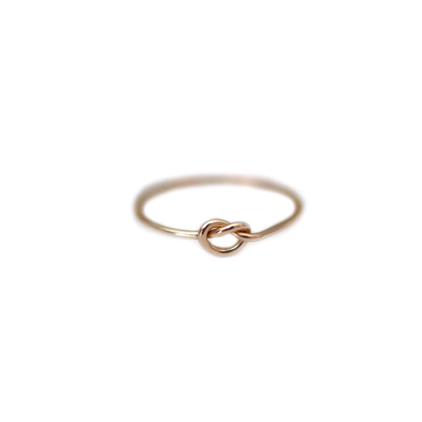 Emily Single Love Knot Ring