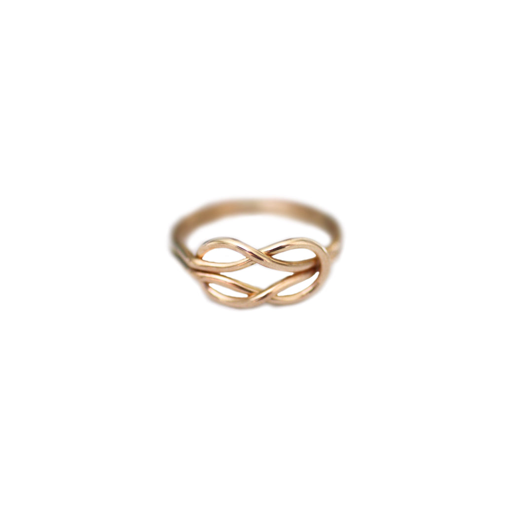 Emily Eternity Ring in Gold Filled