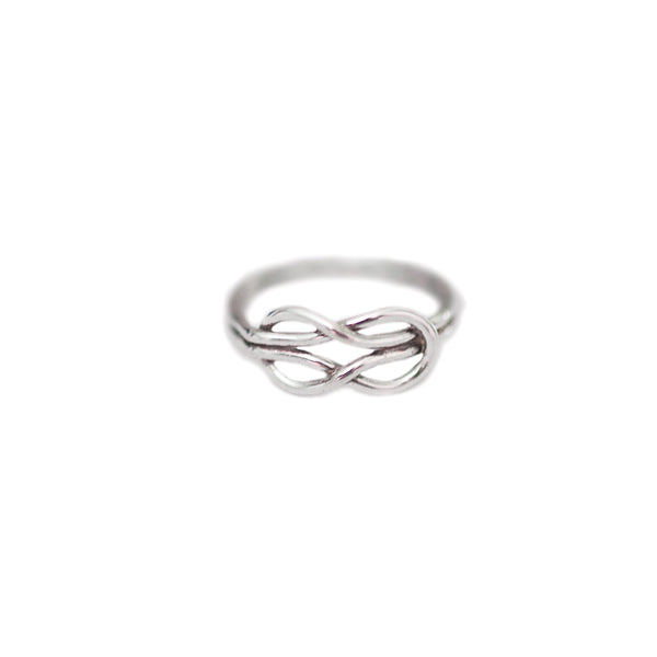 Emily Eternity Ring in Sterling Silver
