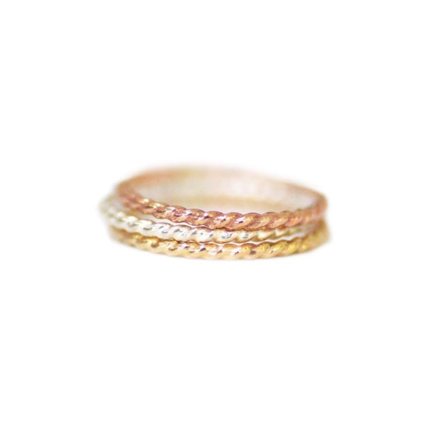 Emily Twisted Stacking Ring