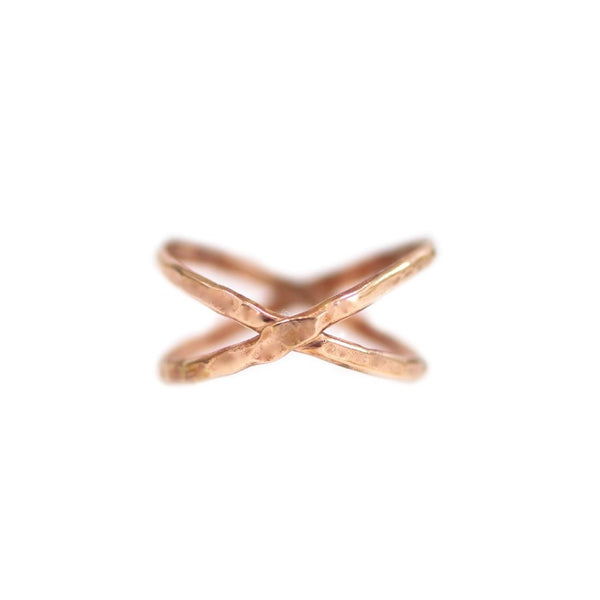 Emily Criss Cross Ring