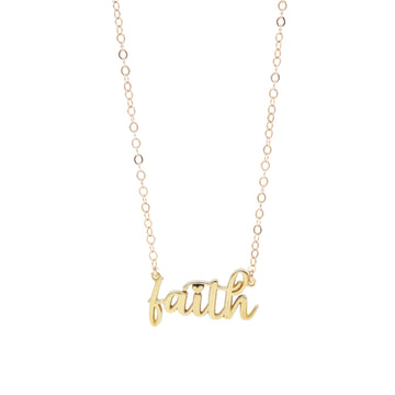 The Inspiration Collection: Faith Necklace