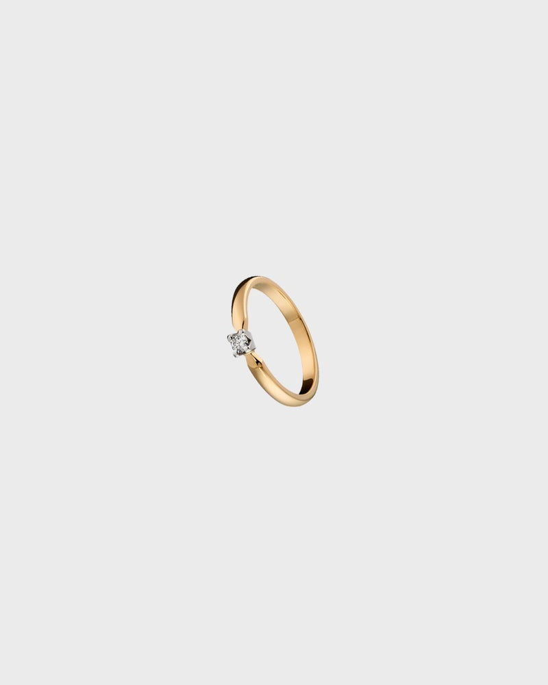 Ring 18K 1x0,08ct – Kalevala Jewelry